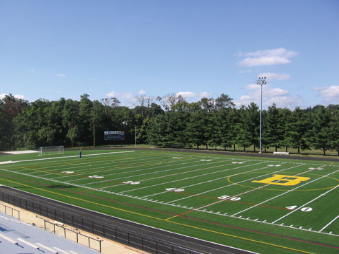 A-Turf athletic field at The Bullis School in Potomac, MD