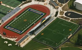 A-Turf on two field complex at Grand Haven High School in Michigan