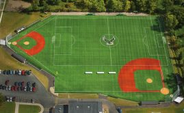 A-Turf on multi-sport field at North Collins High School