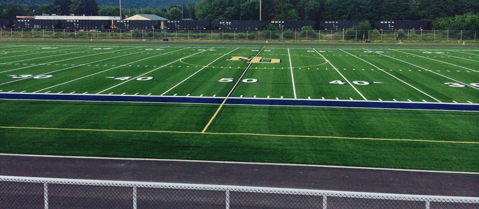 A-Turf Premier XP system at Notre Dame High School athletic field