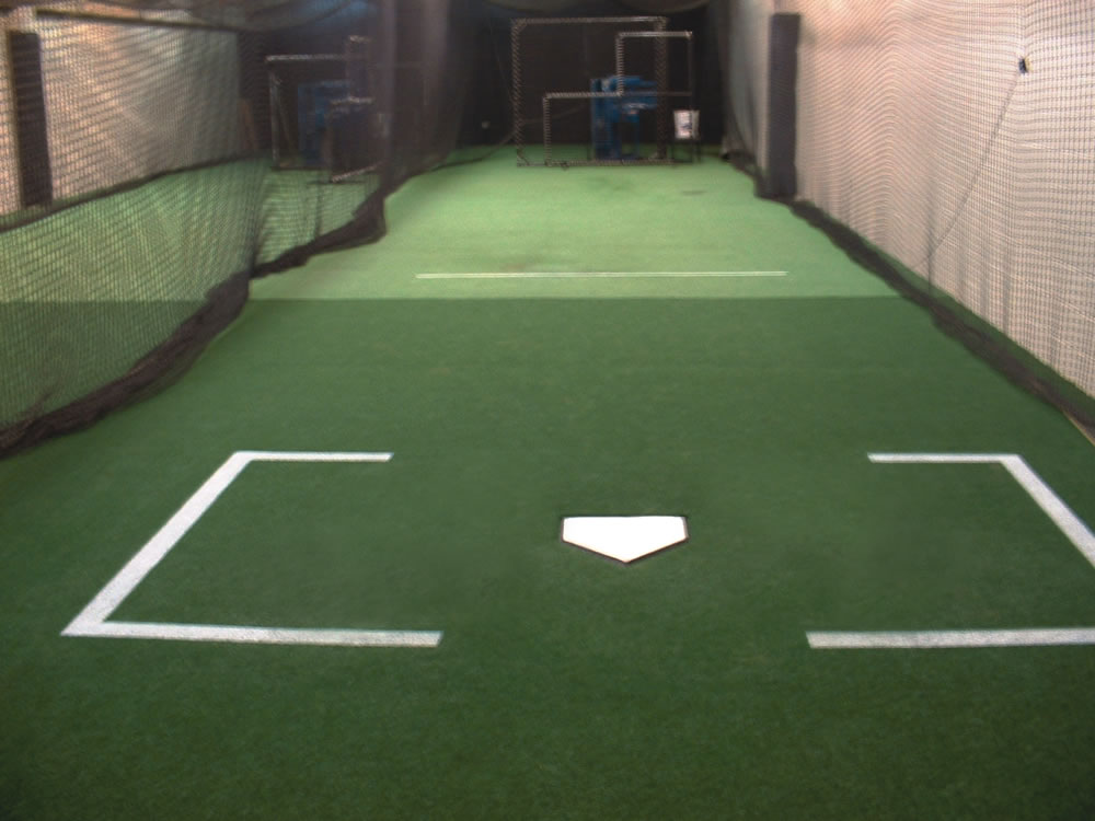 A-Turf at Baltimore Orioles batting tunnel at Oriole Park at Camden Yards