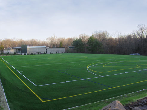 Multi-sport field with A-Turf at Stuart Country Day School in Princeton, NJ
