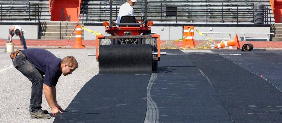 ShockPad: over the base and under the turf